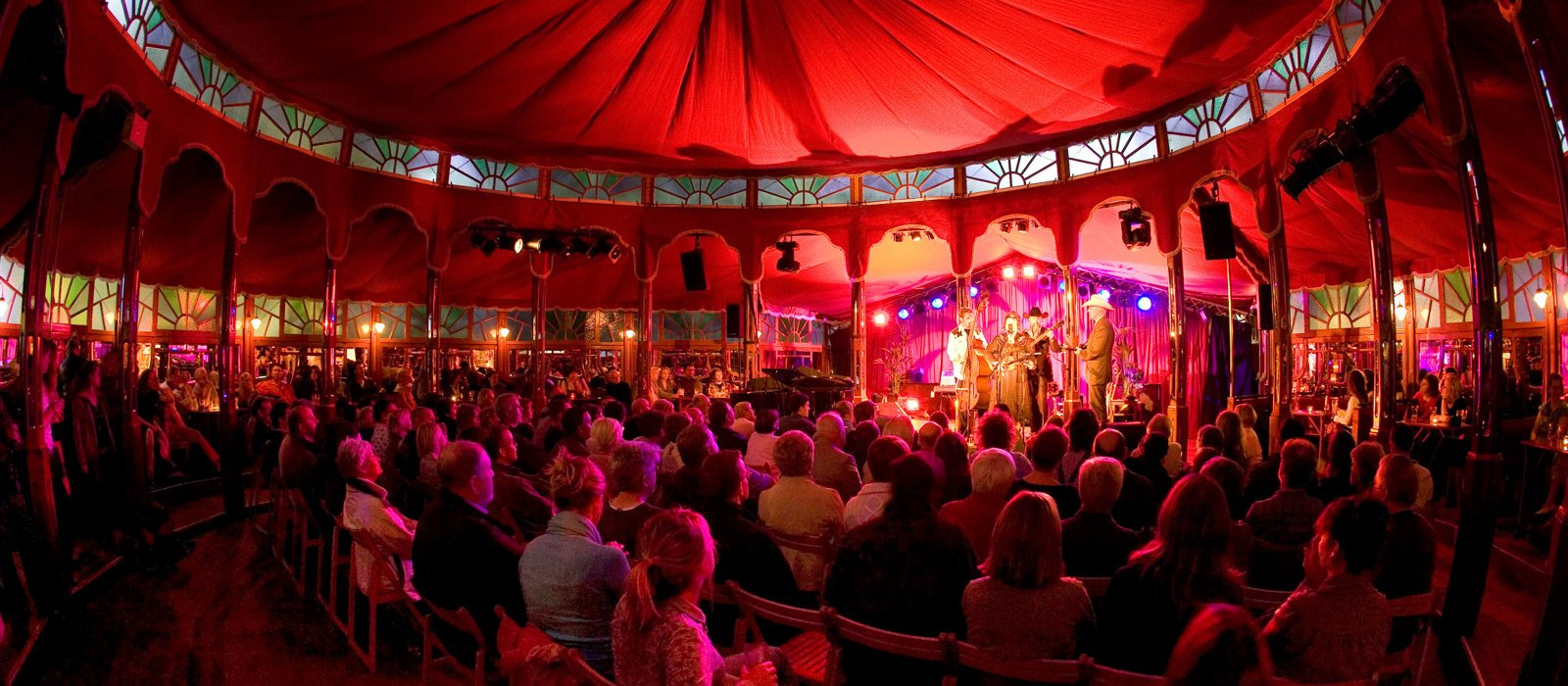 Spiegeltent Fringe Events